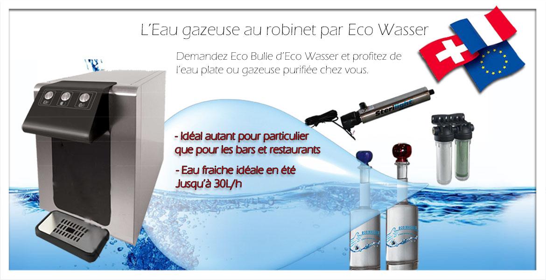 Eco wasser adoucisseur purificateur haut rhin adoucisseurs fontaines - Distributeur d eau gazeuse ...